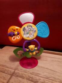 Flower shaped high chair toy