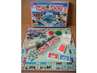 Monopoly BOURNEMOUTH & POOLE, Ltd Edition board game By Hasbro 2007. Complete.