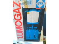 Lumogaz Camping Gas Light boxed Unused as new condition