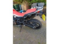 Honda african twin. Immaculate, barely used
