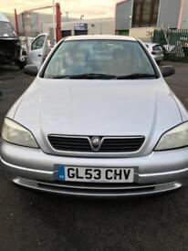 One Owner Cheap Vauxhall Astra
