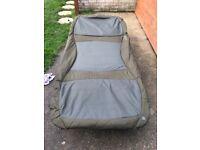 Nash h-gun 4legged wideboy bed chair carp fishing/ camp bed