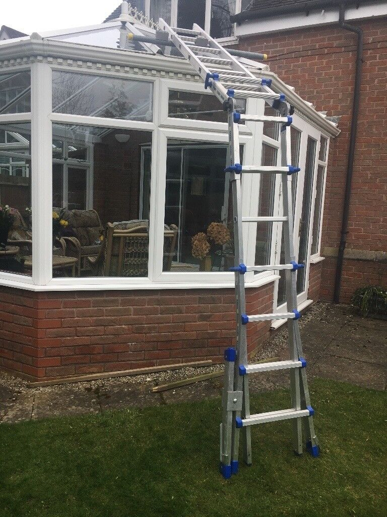 Conservatory Ladders Bavaria Professional Lean-To Sloping Roof Ladders Top  Quality | in Allestree, Derbyshire | Gumtree
