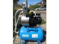BSS / Grundfos water pressure Booster Pump - second hand, good working order