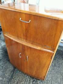 Retro mid century cocktail cabinet
