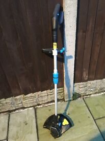 Mac Allister Electric Cordless Grass Trimmer - used twice