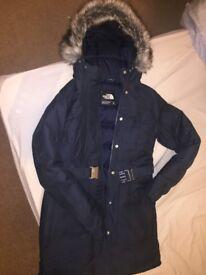 North Face Brooklyn Womens Down-filled/Waterproof Parka Jacket - XS