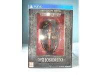 DISHONORED 2 COLLECTORS EDITION PS4 - NEW/UNUSED/PERFECT CONDITION