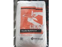 65kg of Thistle multi finish plaster