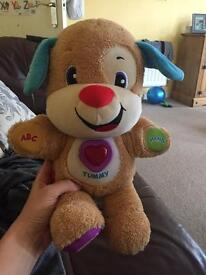 Fisher price talking dog.