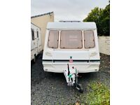 2005 abbey freestyle 500 se 5 berth fitted mover
