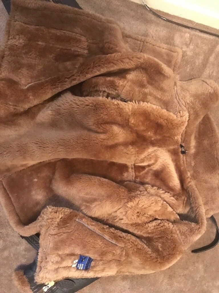 Beautiful leather flying jacket very top quality