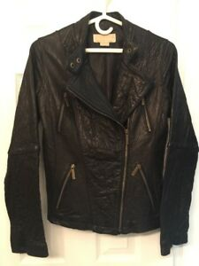 Women's Michael kors leather jacket *REAL*