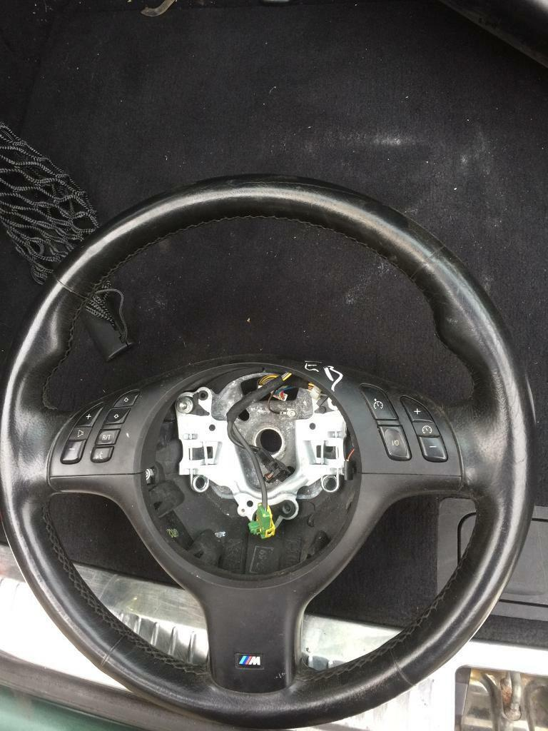 BMW e46 e39 msport steering wheel