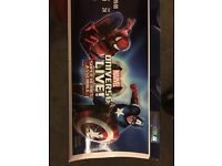Marvels universe live 28th Jan 19:00pm 2 tickets