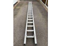 Double 20 Aluminium Ladder Youngman Class 1 Industrial Duty Rating 130kg