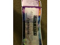 Reading 2016 music festival early entry ticket