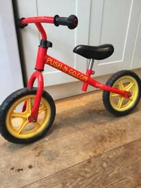 Balance bike - 'push n go'
