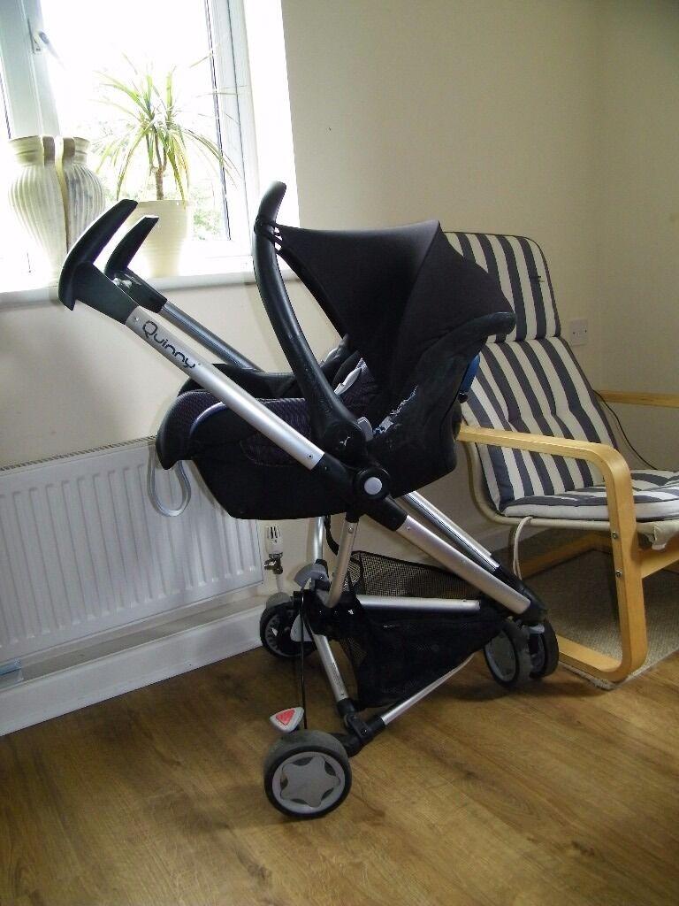 quinny zapp xtra frame and maxi cosi car seat   in Paignton, Devon