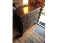 Vintage furniture to up cycle. Wardrobe, dressing chest, drawer unit