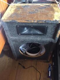 Pa speaker enclosure