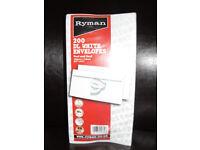 White Envelopes (Half price).