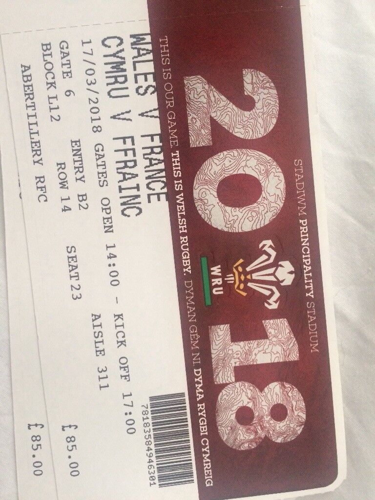 Wales France tickets below face value