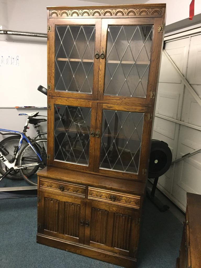 OLD CHARM STYLE WALL UNITS IN GOOD CONDITION £50 EACH OR £80 FOR BOTH