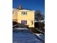 3 Bedroom semi detached house unfurnished