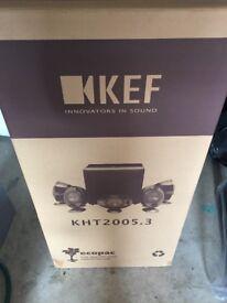Kef KHT2005.3 5.1 Speaker System + Stands