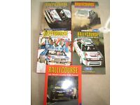 1990 - 1991 to 1995 -1996 Rallycourse Annuals plus others