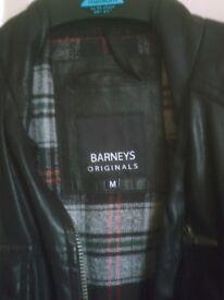 Barneys Original leather jacket ( Medium to large size )