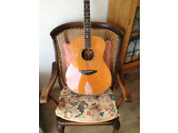 Yamaha LS500 hand-crafted acoustic guitar purchased 2001 from Sounds in Bristol
