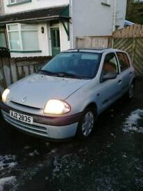 2000 Renault clio for sale