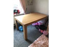 Large dinning/kitchen table/desk