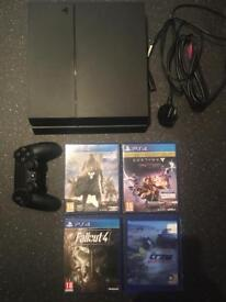 Ps4 + Games For Sale ( PlayStation 4 console )