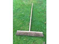Large broom 2 foot wide