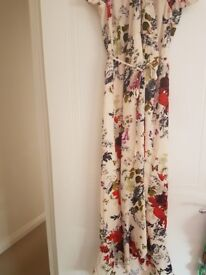 Only worn once! Ladies Oasis dress size 12