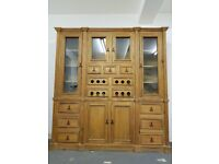Handmade American Pine Antique Look Dresser.