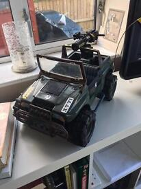 Action man army truck