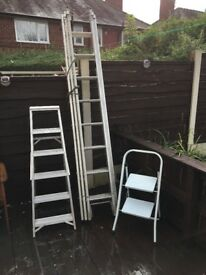 3 sets of ladders