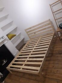 *MINT CONDITION* Argos Home Kaycie Double Bed Frame - Pine