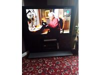 55 inch Panasonic Television with stand from john lewis