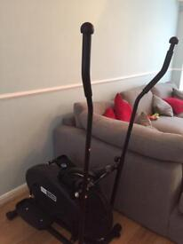 Cross trainer, DVD player, rug,curtains, large canvas and more!!