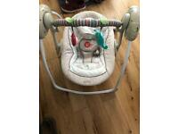 Baby swing - music and motorised swing