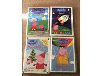 Peppa pig bundle DVD's