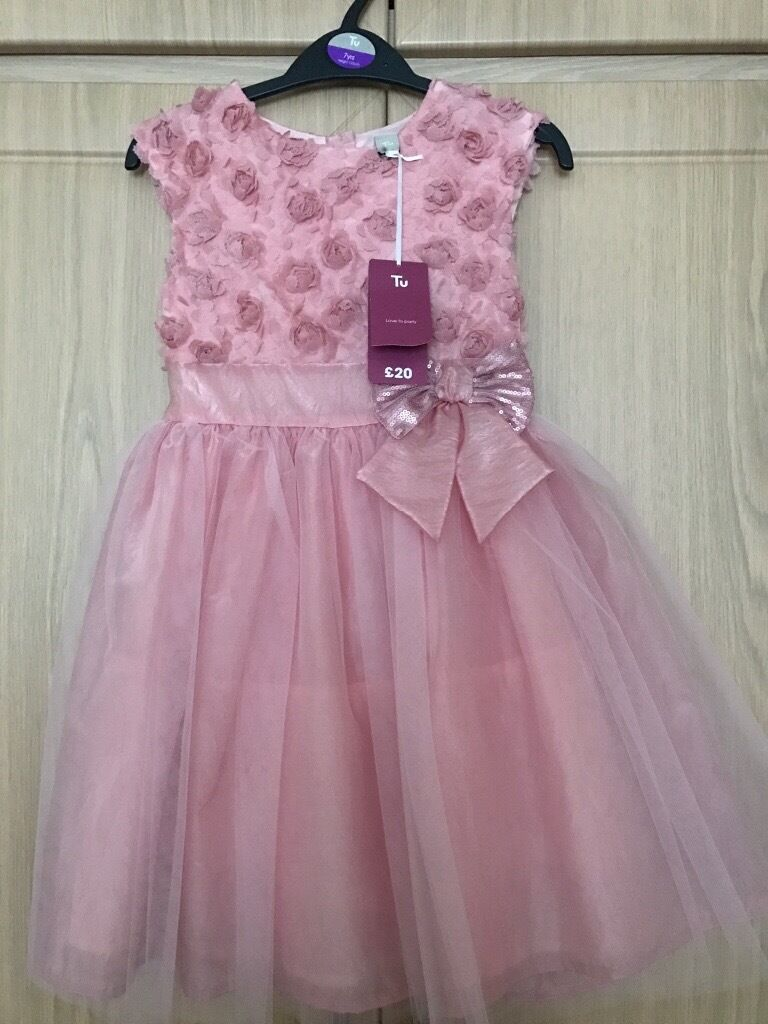 Girls Party Dress Age 7
