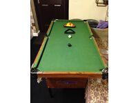 Kids Snooker Table/Pool Table
