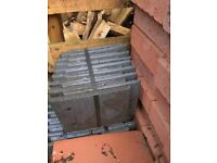 Grey sandtoft roof tiles 265mm x 165