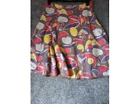 BODEN multi colour skirt. Size 8. Good condition